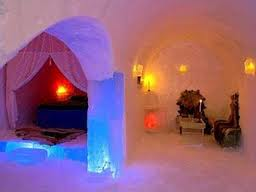 Ice hotel in Norway