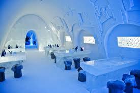 Snow Castle in Finland
