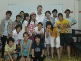johnny ward teaching english in thailand