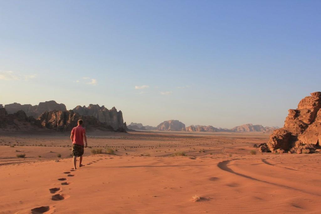 Me in Wadi Rum, Jordan