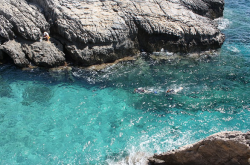 Snorkelling in Crete